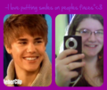 me and my hero &lt;3 - taytaybieber photo