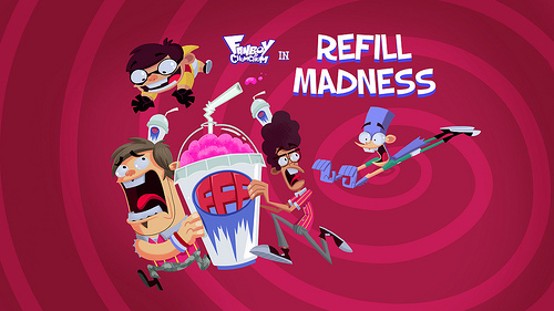 Fanboy ''N'' Chum Chum wallpaper called refill madness