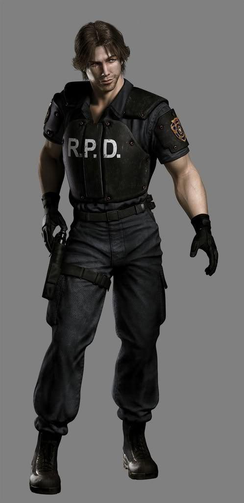 Kevin Ryman from Resident Evil Outbreak