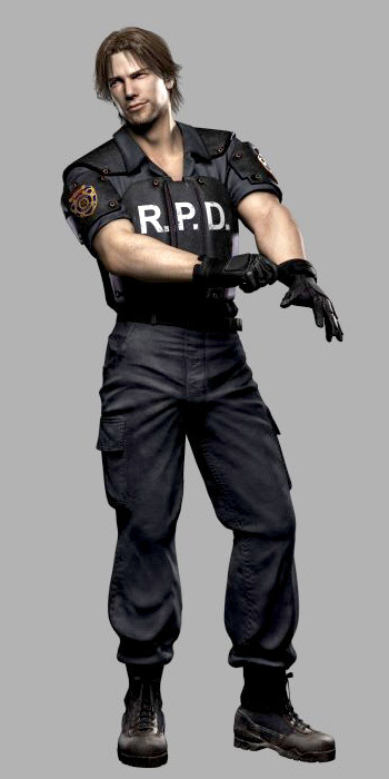 Kevin Ryman from Resident Evil Outbreak