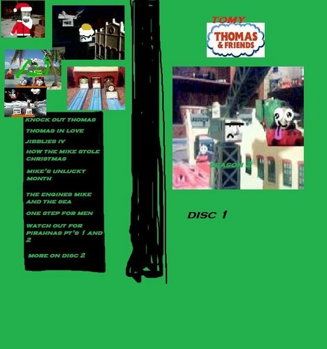 Tomy Thomas And Friends wallpaper probably containing a sign and anime called tomy thomas and friends season 2 disc 1