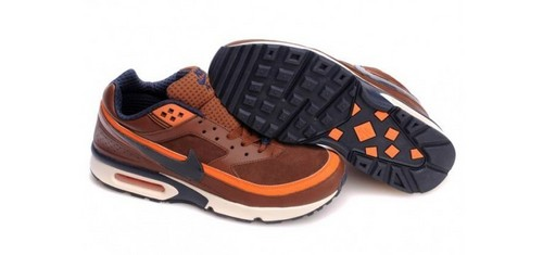 Nike Air Max Classic BW Men's Shoes Brown arancia, arancio
