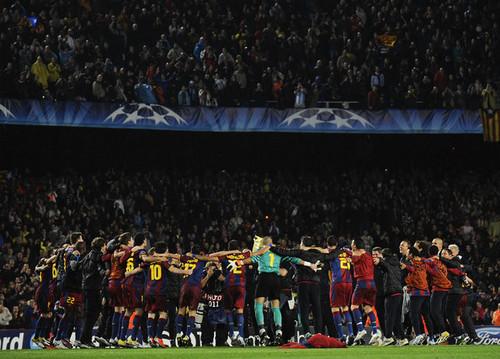 (Second Leg) UEFA Champions League Semi Final: FC Barcelona - Real Madrid