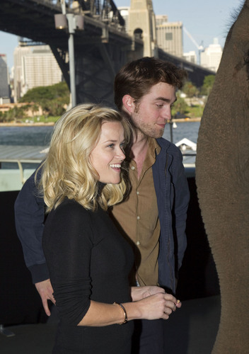 """Water For Elephants"" Sydney Press Conference [HQ]"