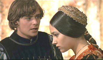 1968 Romeo and Juliet sejak Franco Zeffirelli kertas dinding