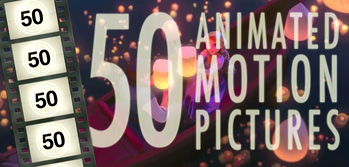 50 迪士尼 Animated Motion Pictures