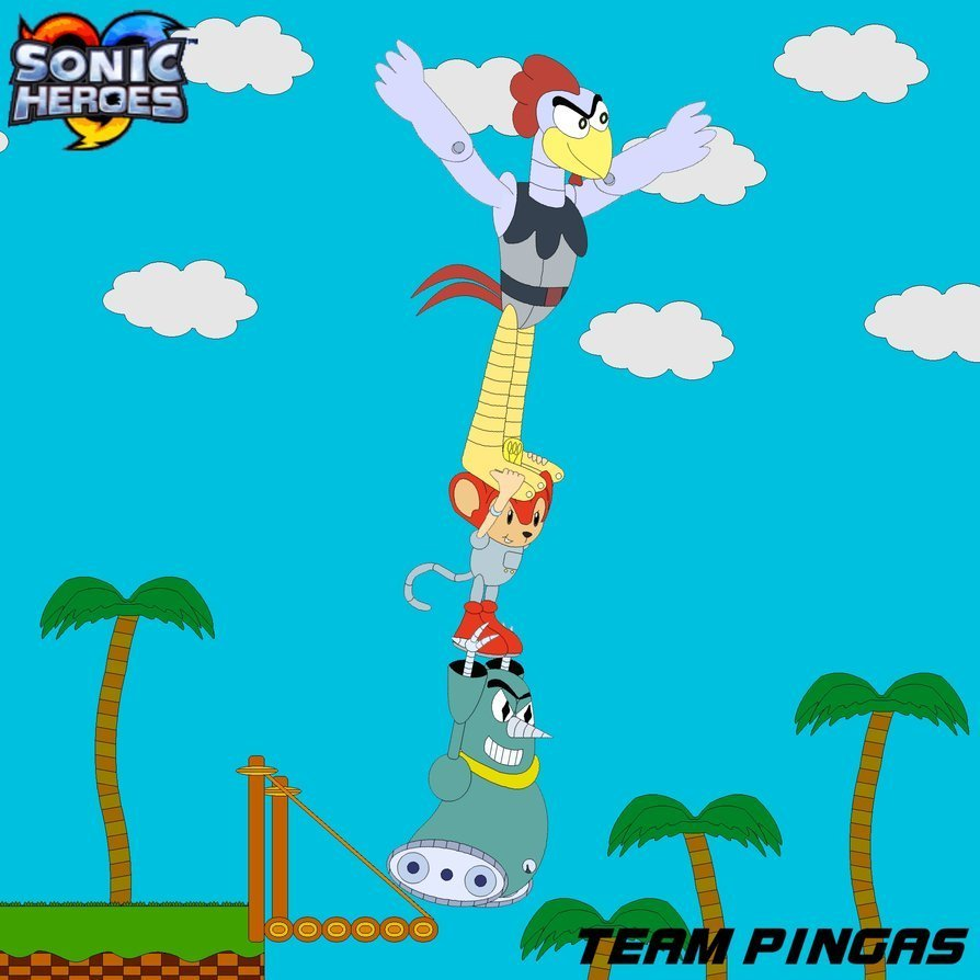 A New Team Of Sonic Heroes? It's Team Pingas!