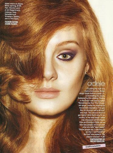 Adele - Teen Vogue (May 2011)