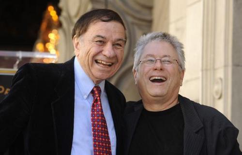 Alan Menken with Richard Sherman