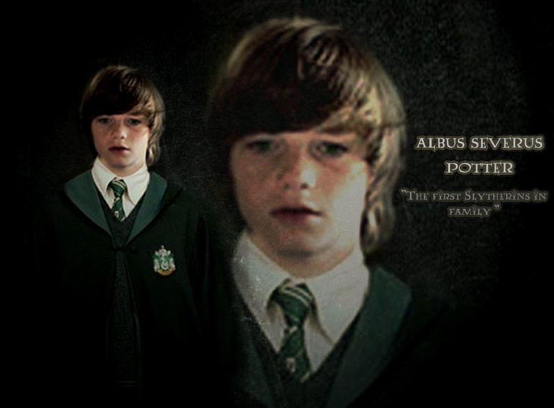 "Albus Potter ""the Slytherin"""
