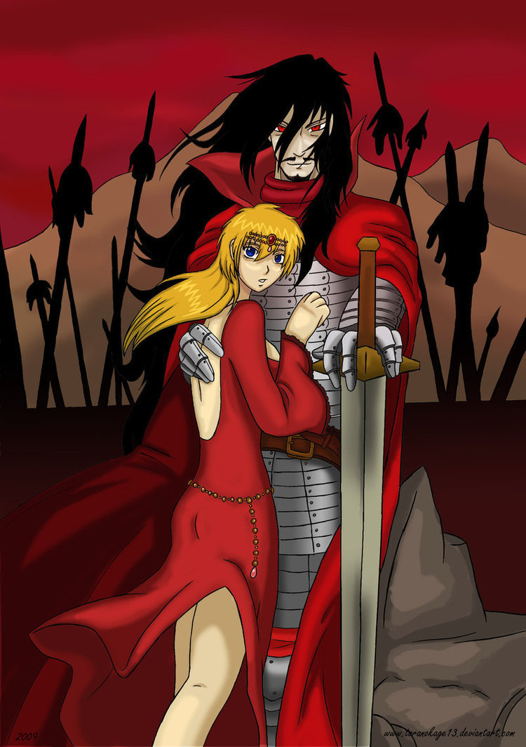 Alucard and Seras Victoria images AlucardxSeras HD ...