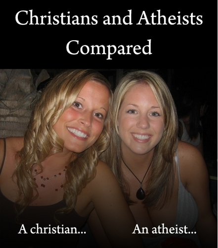 Atheists and Christians: are they really THAT different?