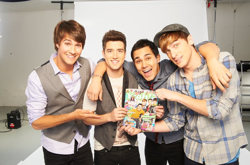 BTR and Yeah! Magazine