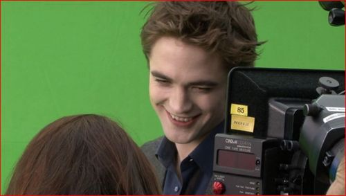 Twilight Series wallpaper called Behind The Scenes- New Moon