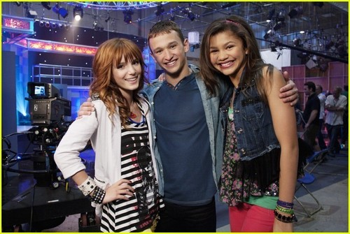 Bella, Zendaya and Kent Boyd
