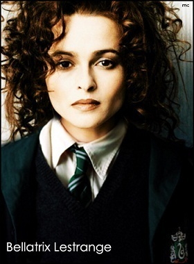 Bellatrix Lestrange as student