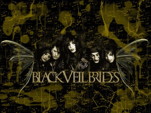 Black Veil Brides wallpaper with a sign entitled Black Veil Brides