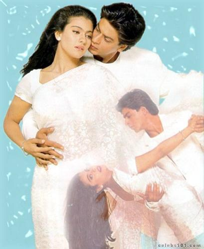 Bollywoods dream couple. Kajol and Shah Rukh Khan