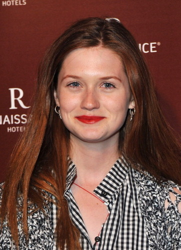 Bonnie Wright attends St. Pancras Renaissance Hotel grand opening