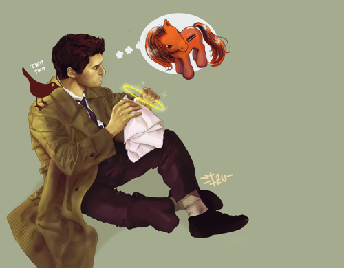Castiel wallpaper called CASTIEL D R A W I N G