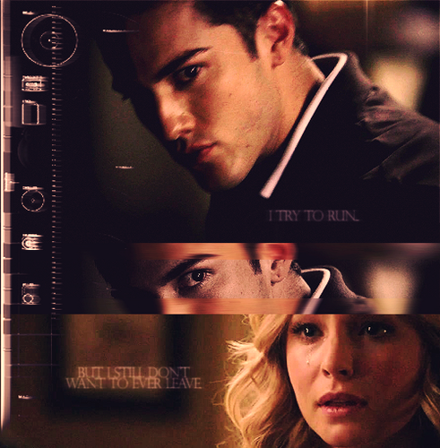 Caroline/Tyler (4wood) I Try To Run But I Still Don't Want To Eva Leave (Wolfvamp) 100% Real ♥