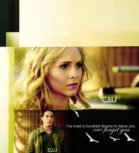 Caroline/Tyler (4wood) I've Lived 100 Storms To Leave U, I Can't 4get U! (Wolfvamp) 100% Real ♥