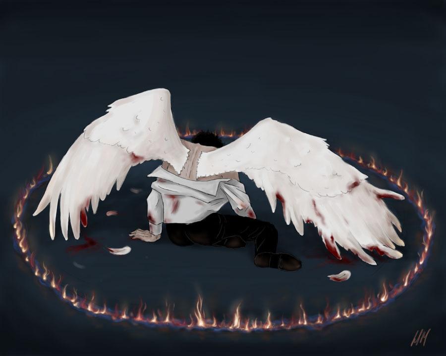 Castiel Holy आग