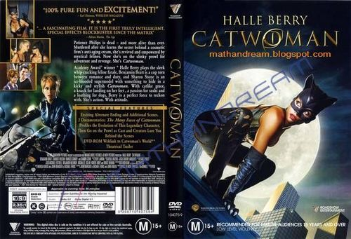 Catwoman DVD Cover