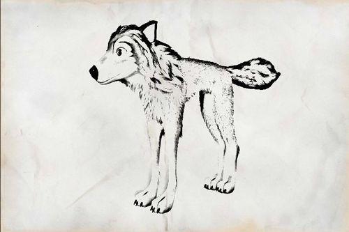 Charcoal drawing of Humphrey