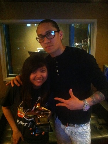 Charice with Black Eyed Peas' Taboo :)