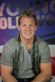 Chris Jericho Visits Young Hollywood Studio