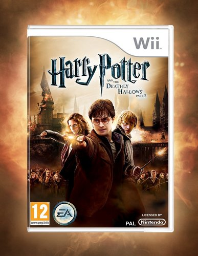 Evanna Lynch fondo de pantalla with anime titled DH Part 2 nintendo Wii Videogame Cover
