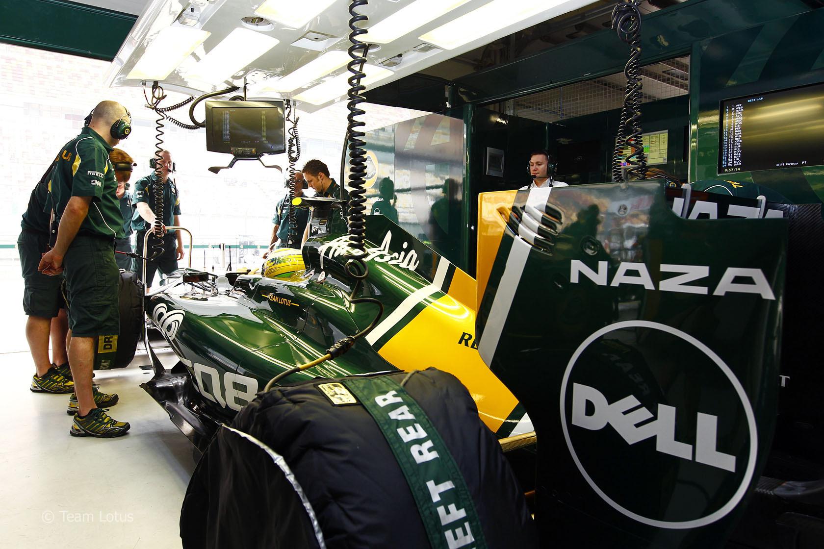 Team Lotus Formula 1 Images Dell New Sponsor Hd