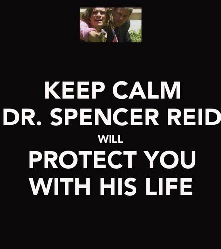 Dr. Spencer Reid - Keep Calm