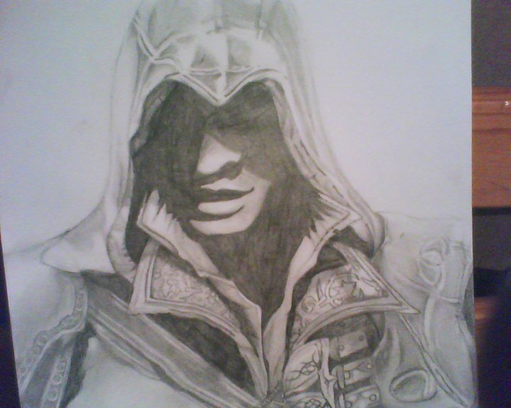 Ezio My Drawing Assassin S Creed Fan Art 21708425 Fanpop