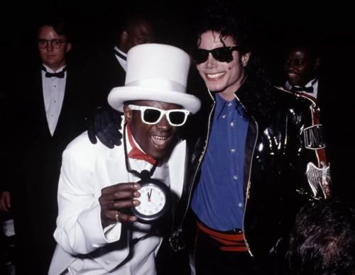 Flavor flav and michael jackson