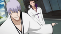 bleach-anime - Gin and Aizen screencap