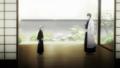 bleach-anime - Gin and Aizen screencap