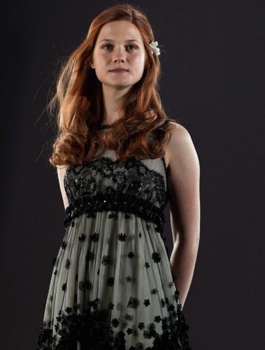 Ginny Weasley DH promo pics