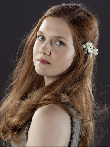 "Ginevra ""Ginny"" Weasley wallpaper containing a portrait called Ginny Weasley DH promo pics"