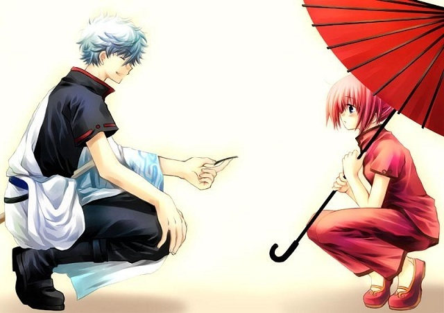 Kagura Chan  Gintama  Gintoki-and-KaguraGintoki And Kagura