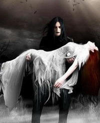 Severus Snape Hintergrund with a lippizan called Gothic Severus & Lily