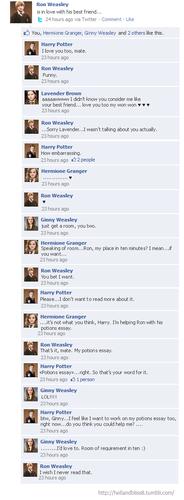 HP facebook convos
