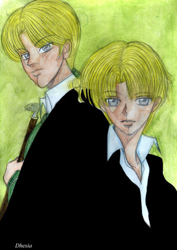 HP7-Draco and Scorpius Malfoy