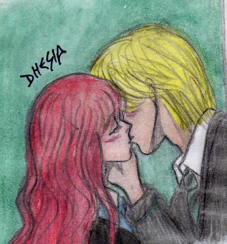 HP7-Rose and Scorpius Kiss