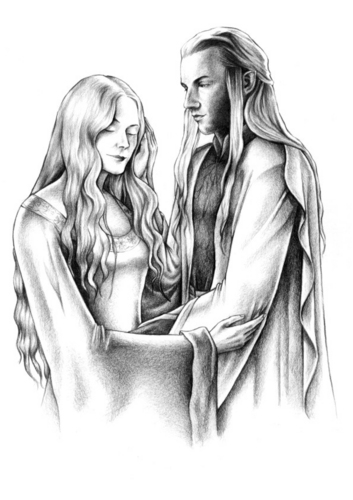Haldir and Eowyn