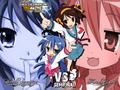 Haruhi Suzumiya VS Lucki Star