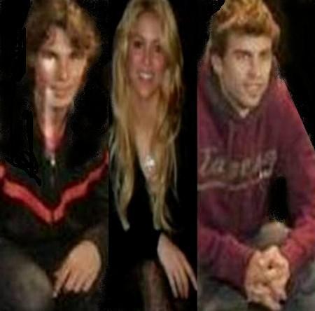 Holy Trinity: Nadal, Shakira and Piqué