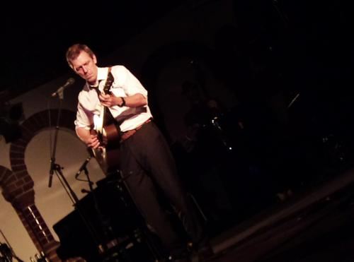 Hugh Laurie live in Berlin, Passionkirche Kreuzberg (April 28th, 2011).