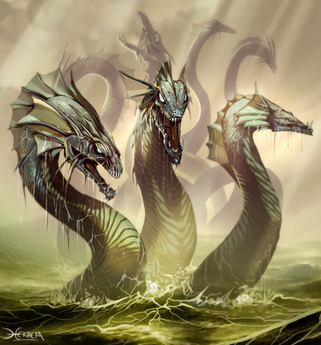 Dragons wallpaper titled Hydra